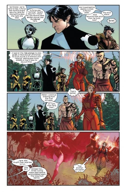 The Trial of Magneto wanda Bruja Escarlata 2