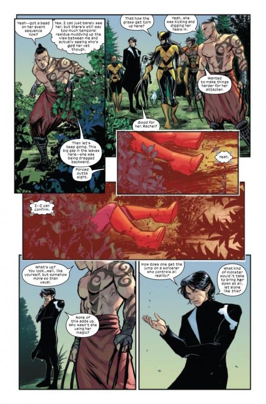 The Trial of Magneto wanda Bruja Escarlata 3