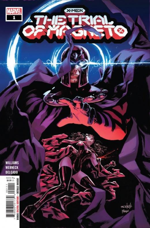 The Trial of Magneto wanda Bruja Escarlata