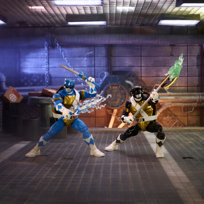 Tortugas Ninja Power Rangers 1