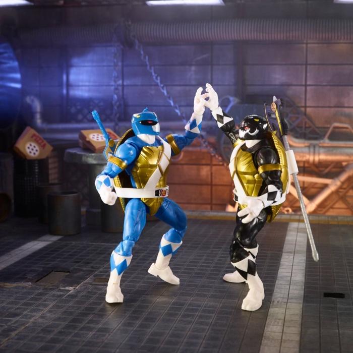 Tortugas Ninja Power Rangers 2