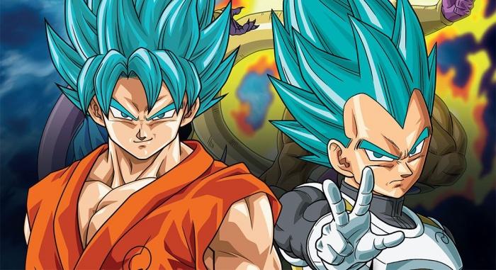 Vegeta Goku Dragon Ball Super
