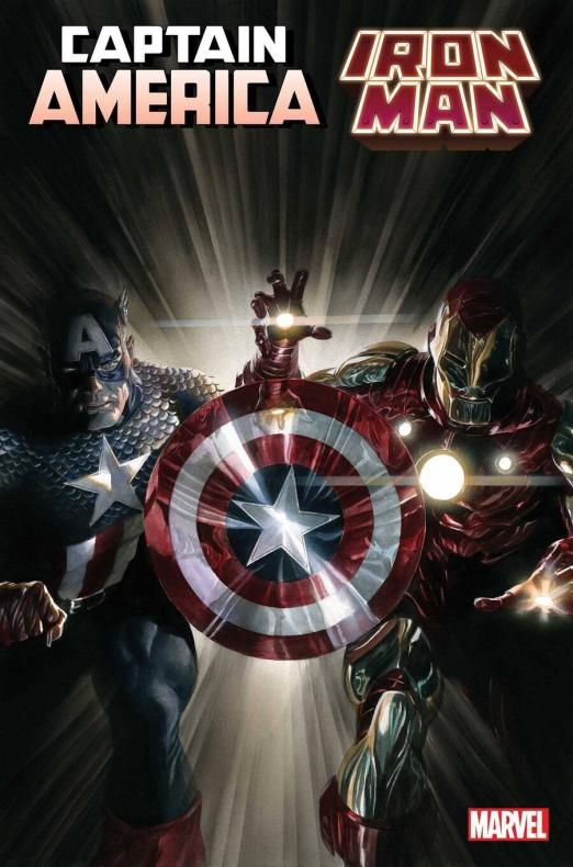 iron man y capitan america