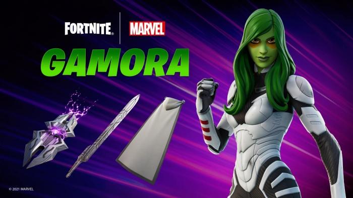 Gamora es la última incorporación a Fortnite