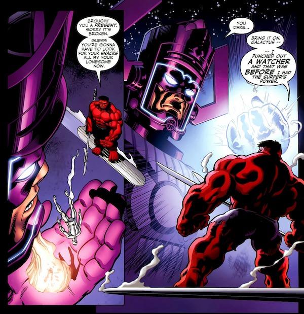 galactus vrs hulk rojo 2