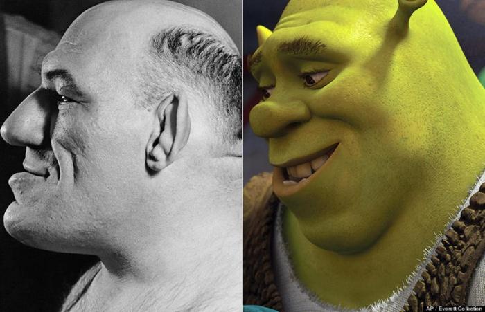 Shrek - Maurice Tillet