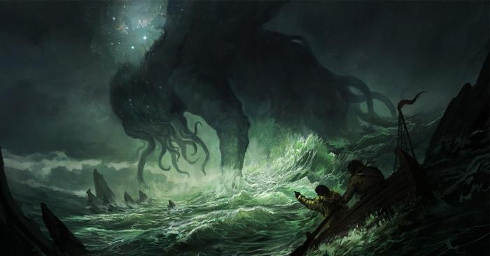 Cthulu lovecraft comic interactivo