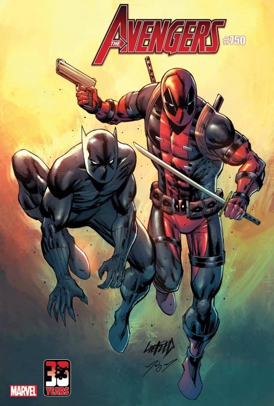 Los Vengadores 750 Deadpool