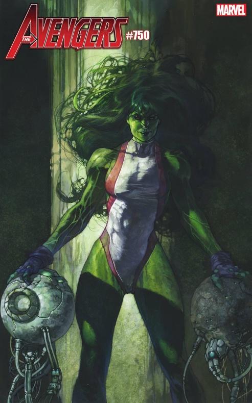 Los Vengadores 750 Hulka Marvel