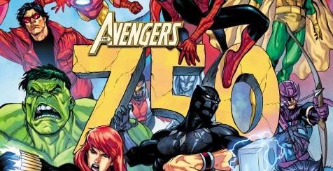 Los Vengadores 750 Marvel Cómics
