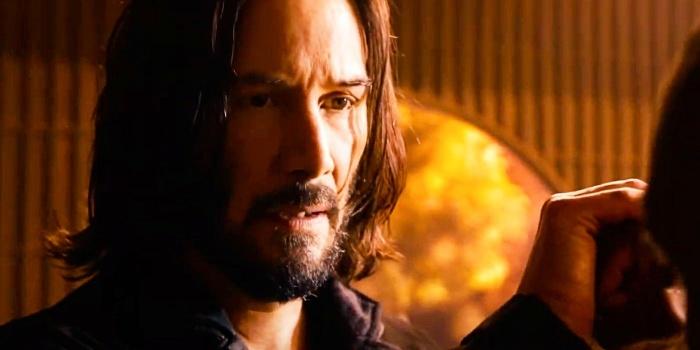 Matrix Resurrections Keanu Reeves Neo