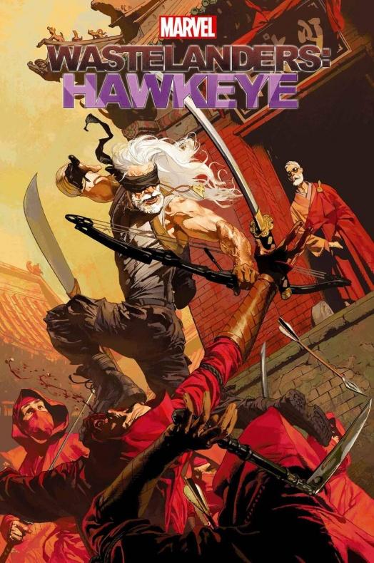 Old Man Logan Wastelanders Marvel Ojo de Halcón