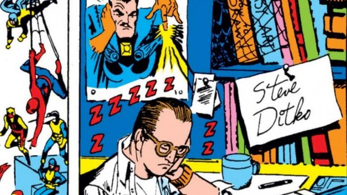 spider-man Steve Ditko Marvel Doctor Extraño