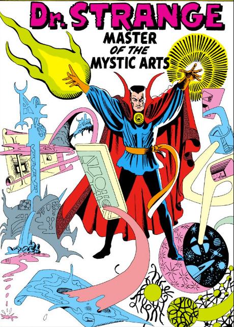 Steve Ditko spider man Doctor Extrano Marvel Comics 1