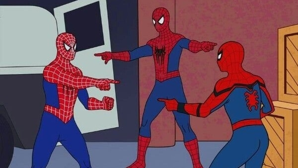 meme de Spider Man 2