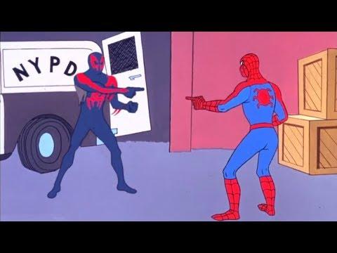 meme de Spider Man senalando 1