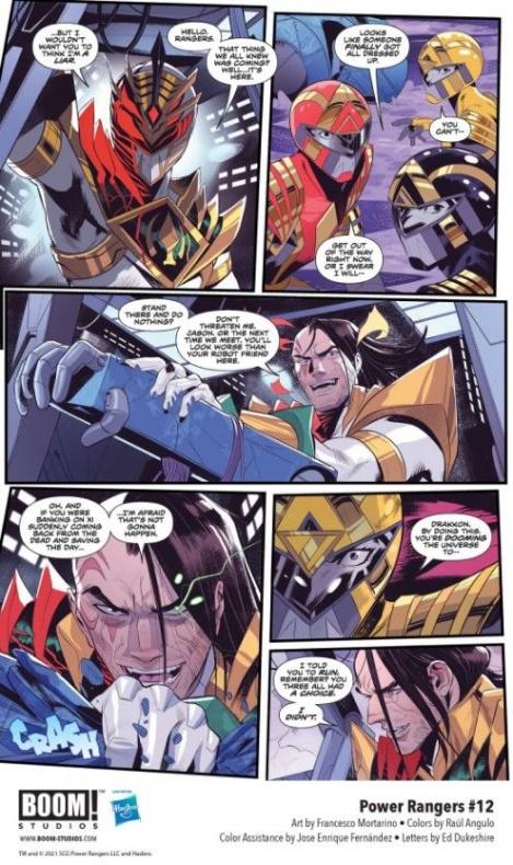 Power Rangers - BOOM! Studios