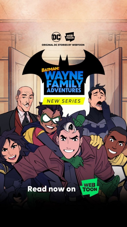 Batman Wayne Family Adventures poster
