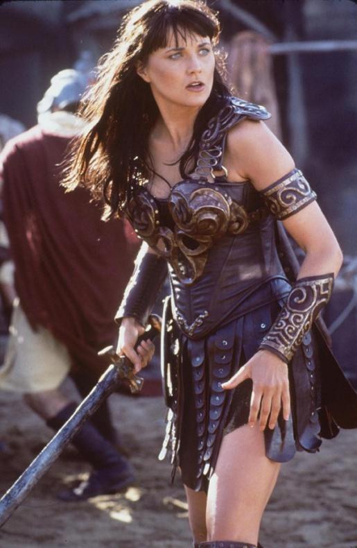 El Mandaloriano Xena Lucy Lawless