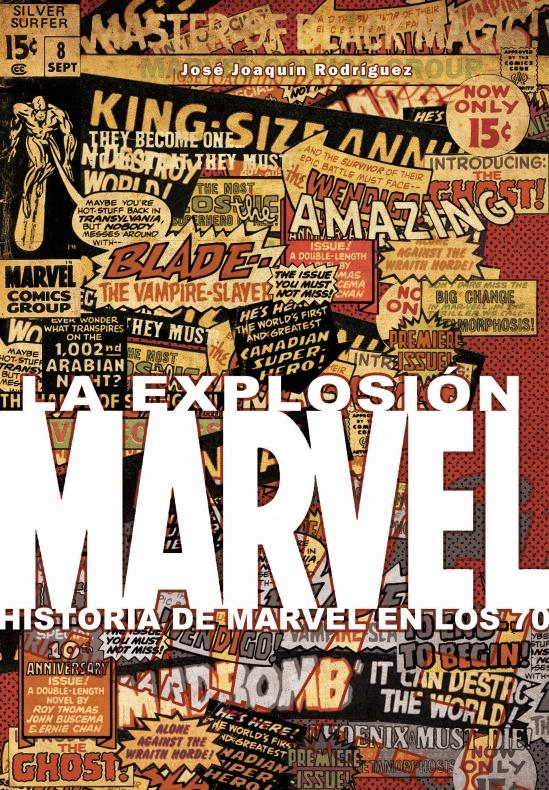 La explosion Marvel portada