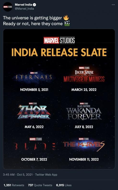 Marvel Blade fecha UCM
