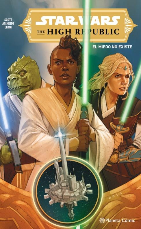 Portada Star Wars High Republic tomo 1