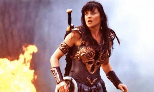 El Mandaloriano Xena La princesa guerrera Lucy Lawless