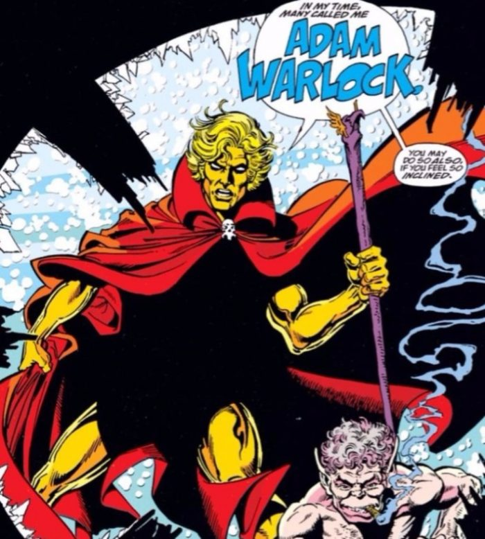 adam warlock comic