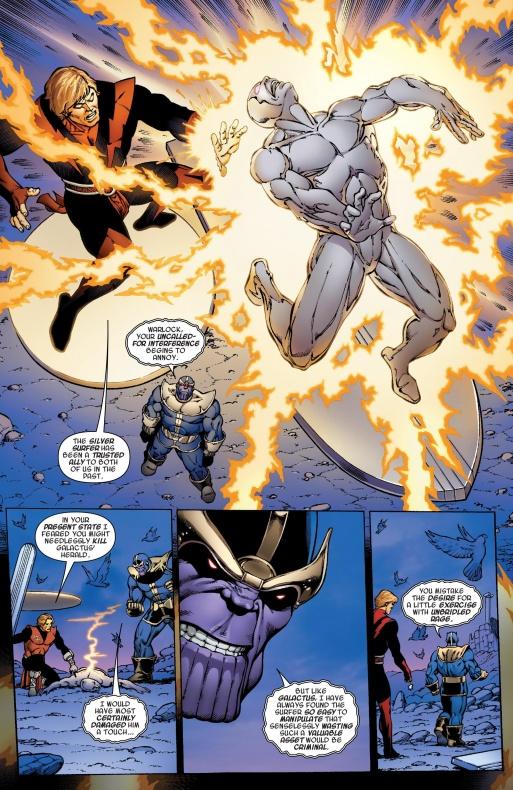 adam warlock vs silver surfer